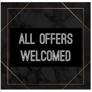 Other - ALL OFFERS WELCOMED
